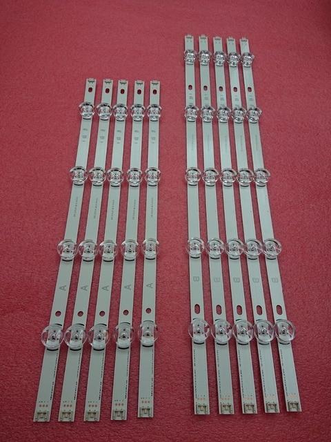 5 סט = 50 PCS LED backlgith רצועת עבור LG 49LB5500 49LB620V 49lb6200 49lf5100 49LB5520 49LB550V 6916L 1788A 1789A 1944A 1945A