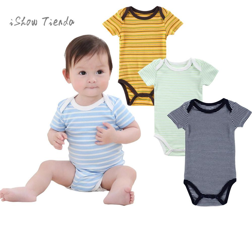 Newborn onesie infant clothing Striped Jumpsuit Baby costumes overalls for kids baby-bodysuit barboteuse baby boy summer clothes
