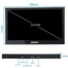 13.3 inch 2560×1440 Portable Monitor pc for PS4 Windows 7 8 10 Full HD LCD 2K HDMI IPS Screen gaming Monitor Ultra Thin Display