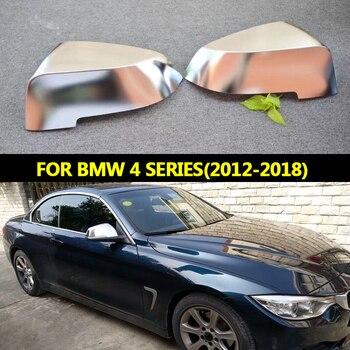 สำหรับ BMW 4 Series 1 คู่กระจกมองหลังฝาครอบ ABS F32 F33 F36 สำหรับ BMW กระจกฝาครอบ BMW Modificate 2012 2013 2014 2015 2018