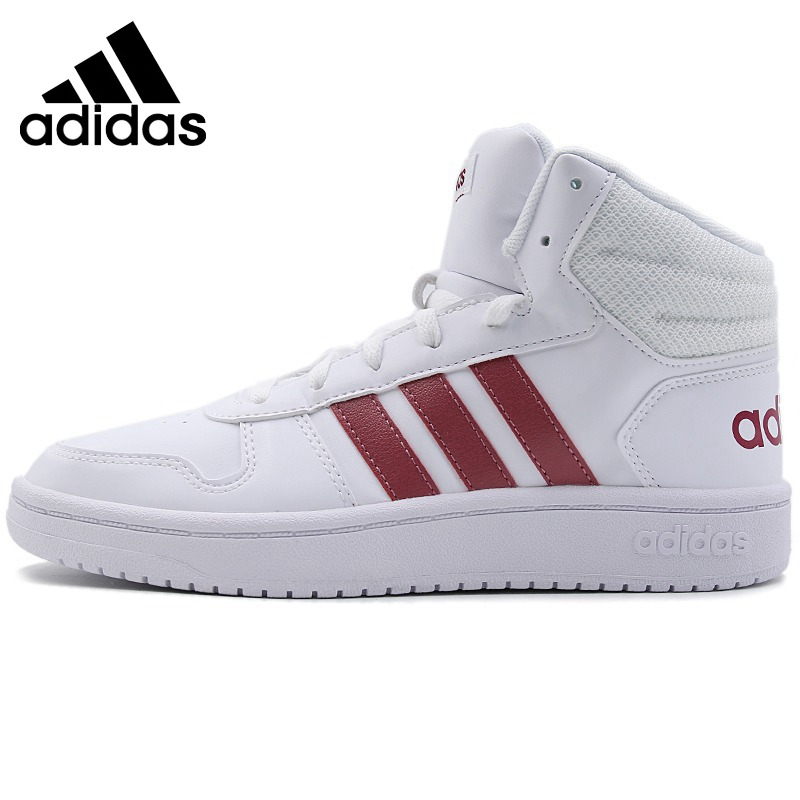 Original Adidas NEO Label HOOPS 2.0 MID Womens Skateboarding Shoes Sneakers Outdoor Sports Athletic New Arrival 2018 B42099Original Adidas NEO Label HOOPS 2.0 MID Womens Skateboarding Shoes Sneakers Outdoor Sports Athletic New Arrival 2018 B42099