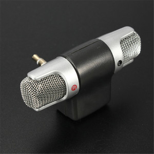 Image 5 - LEORY Mini Condenser Microphone 3.5mm Portable Stereo Karaoke Microphone Mic For Universal PC Laptop Mobile Phone Recorder