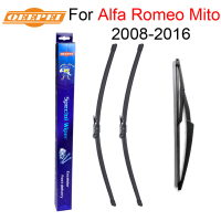 QEEPEI Front And Rear Wiper Blade No Arm For Alfa Romeo Mito 2008 Onwards High Quality