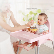 Portable Baby Dinner Table Detachable Feeding Chairs Adjustable Folding Chairs Folding Baby Kids Highchairs Seat