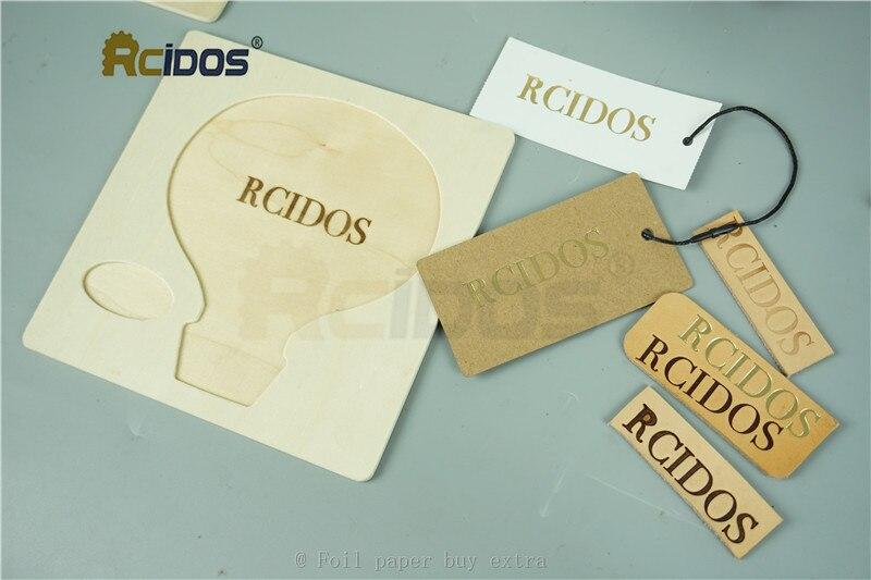 WT 90DS + т типа латунные буквы RCIDOS штемпелюя машина, кожа бронзируя, машина для горячего тиснения фольгой, 110В/220В, с держателем рулона фольги - 5