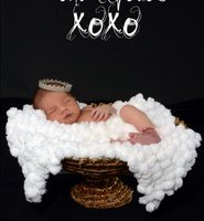 Cute F ashion Newborn Photography Props White Blanket Large Sphere Wave Ball Blanket Baby Props DIY Pom Pom Blankets 80*80CM