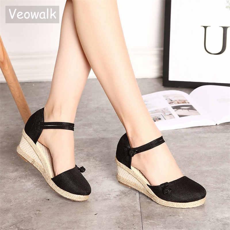 Veowalk Vintage Women Sandals Casual