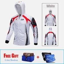 3pcs/set Daiwa Fishing Jacket Men Outdoor Quick-drying Fishing Clothing Breathable Sunscreen Coat Fishing Suit 3 Colors Choose