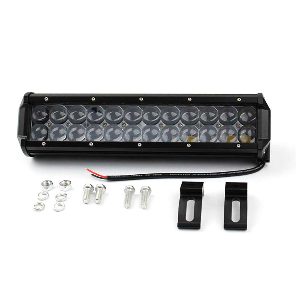 Free Shipping 1 Pcs 4D LED Bar 120W 12 Spotlight/Floodlight Bar Offroad ATV Truck 4x4 UTV 4WD Truck RZR 12V 24V Camper Tractor