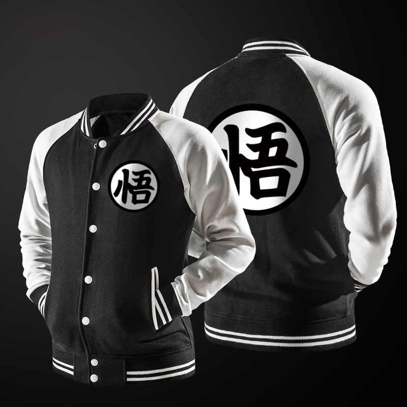 Nueva tendencia primavera negro Varsity chaqueta de béisbol