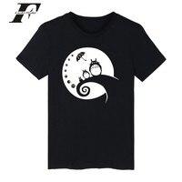 LUCKYFRIDAYF Totoro Tshirts Cotton Men 4xl Kawaii Tee Shirt Men Brand Hip Hop Cute Summer Short