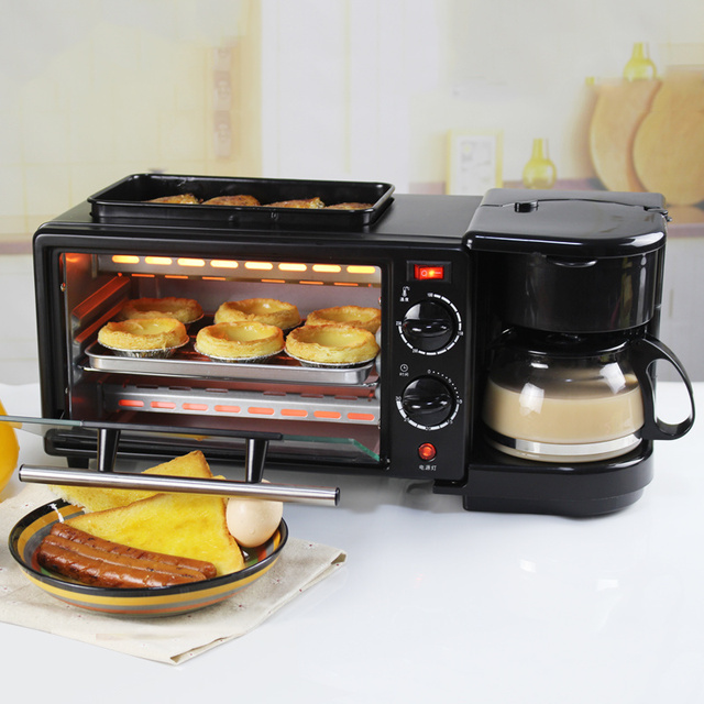 Electric Toaster Multi Function Puke Driver 3 In One Breakfast Machine Home Full