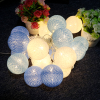 High Quality LED Lighting Strings Outdoor Lighting Christmas Decoration Patio Decors Fabric Flexible White Light