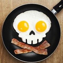 1 шт. Творческий завтрак силиконовые формы яйца блин кольцо скелет Fried Egg Shaper Пособия по кулинарии инструмент Кухня гаджеты