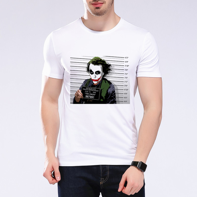 Us 5 84 27 Off Summer Men S Suicide Squad T Shirt 3d T Shirt Angry Joker Design Punk Anime Funny Round Neck Tees Hip Hop Men S T Shirts L1e11 In