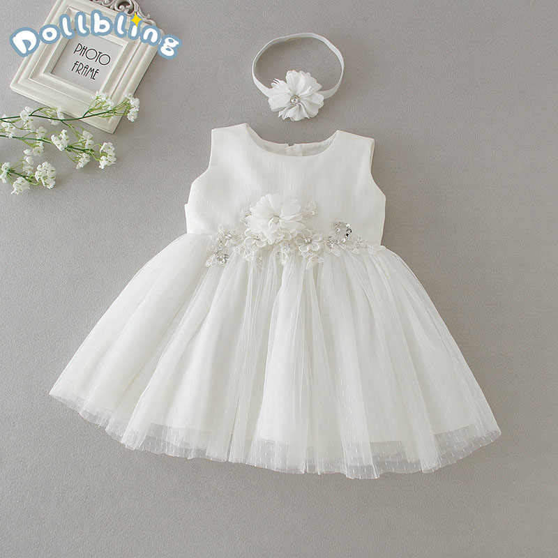 Pearl Girl Princess Dress Kid Party Wedding Pageant Formal Tutu Dresses Bowknot