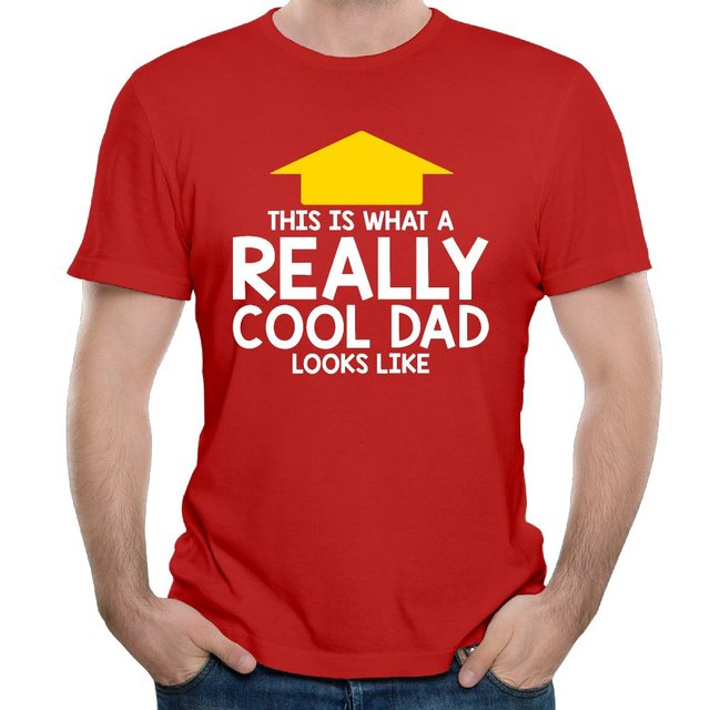 23ddb773 This is what a Really Cool Dad Looks Like summer fashion men's t shirt