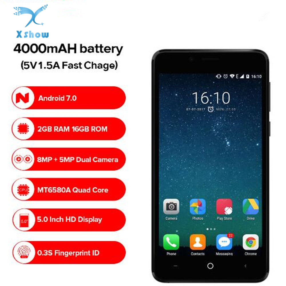 LEAGOO KIICAA POWER 3G Smartphone Android Dual Back Camera 4000mAh Battery 2GB 16GB MT6580A Quad Core