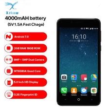 LEAGOO KIICAA GÜÇ 3G Smartphone Android Çift Kamera 4000 mAh Pil 2 GB + 16 GB MT6580A Quad çekirdek 5.0