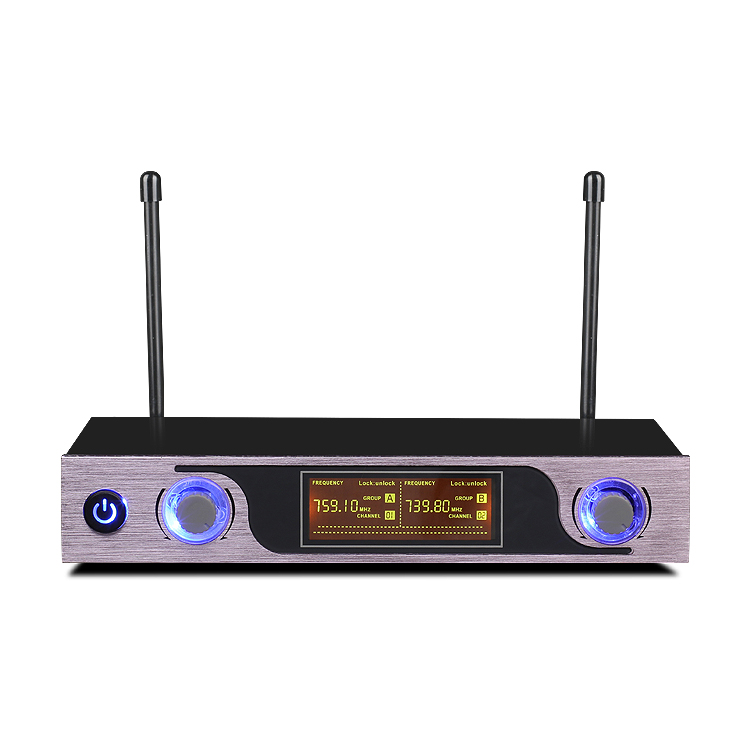 Image 5 - UHF Wireless Microphone with LED Display MU 589 for Speaker Studio Recording TV Box Audio Mixer DVD Player School Teaching-in Microphones from Consumer Electronics