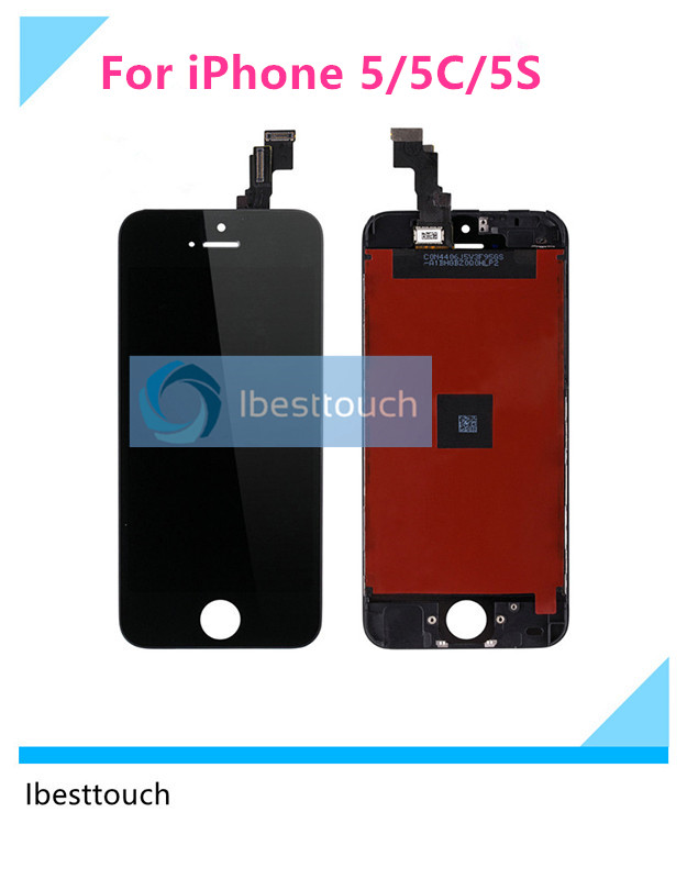 10pcs lot 100 Tested Grade AAA LCD Display For iPhone 5 5C 5S LCD Touch Screen