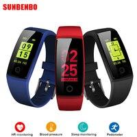 V10 Smart Wristband Fitness Bracelet Heart Rate Monitor Smart Band Acitivity Tracker Pedometer Blood Pressure Colorful