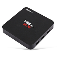 Scishion V88 мини ТВ коробка rk3229 4 core Android 6.0 1 ГБ + 8 ГБ Smart ТВ коробка