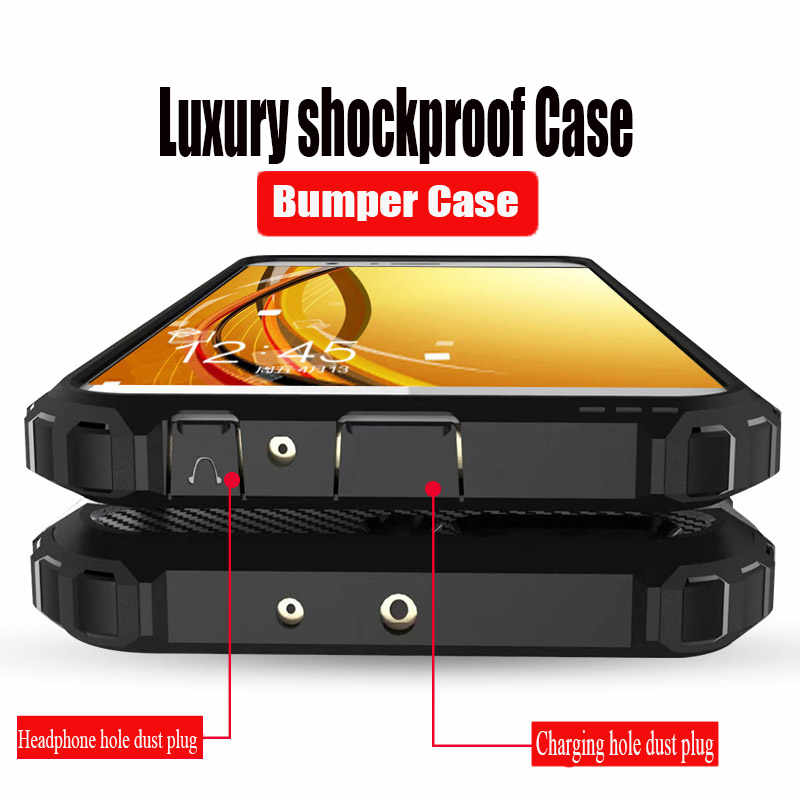 Luxury Shockproof Armor Case Cover On For Huawei Honor 10 9 Lite P Smart 2019 8X 7C7A Case For Huawei Y6 Y7 Prime 2018 Soft Case