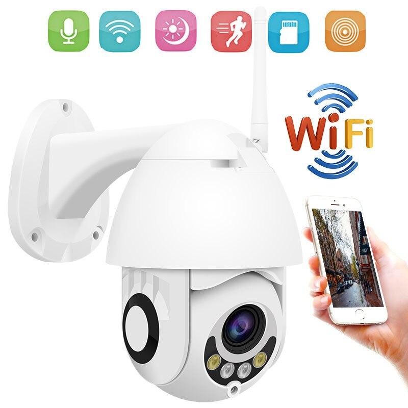1080P Wireless PTZ IP Camera WIFI 5X Zoom Outdoor 960P CCTV Camera Security Video Surveillance Camera Audio Color Night Vision