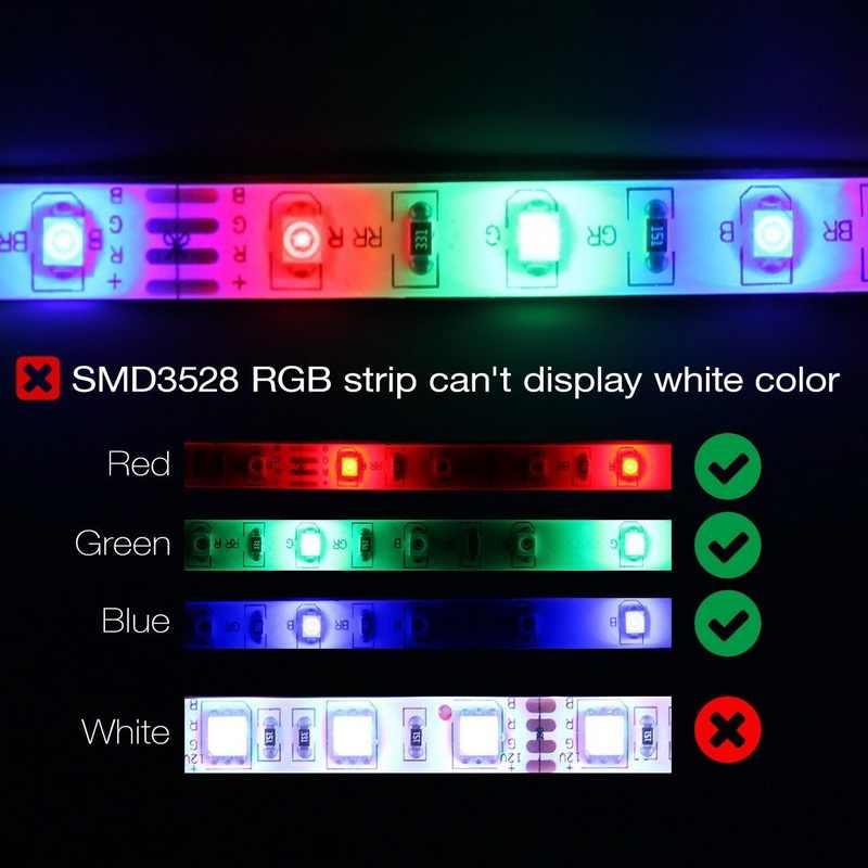 5 m 10 m 15 m Taśmy LED 12 v 60 diod/m Wodoodporna Elastyczna RGB Taśmy Wstążka SMD 2835 Liny Ciąg Światła Lampy + WiFi Kontroler Bluetooth