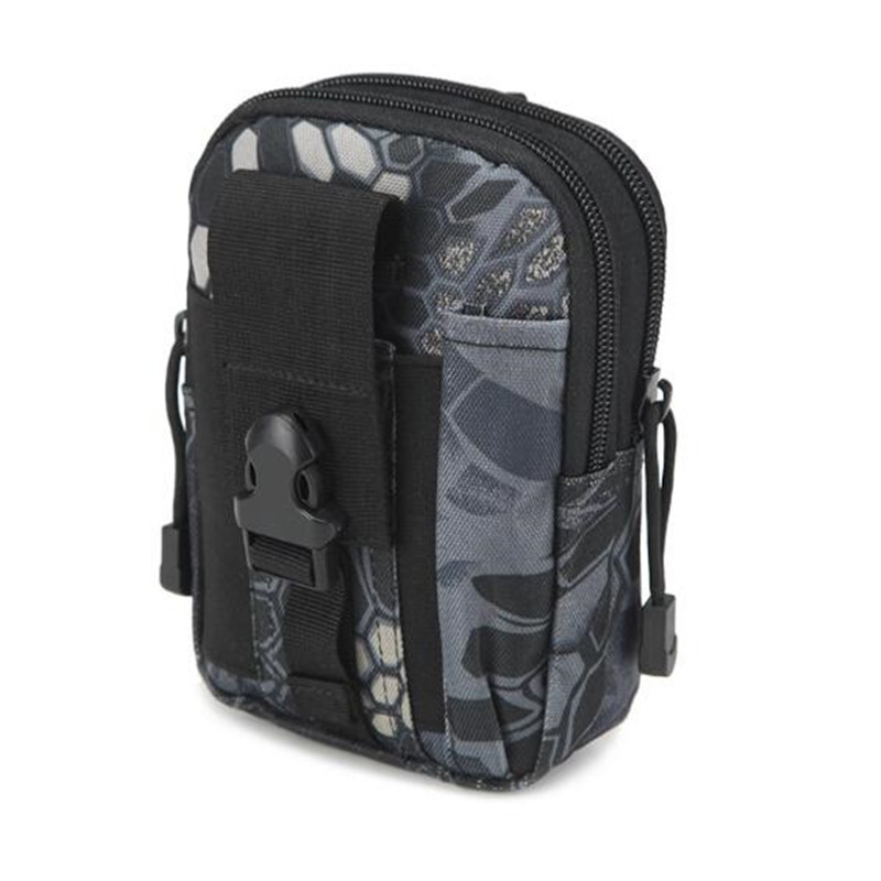 Foreign trade explosion molle sports pockets male outdoor tactical pockets camouflage running camping bag F20