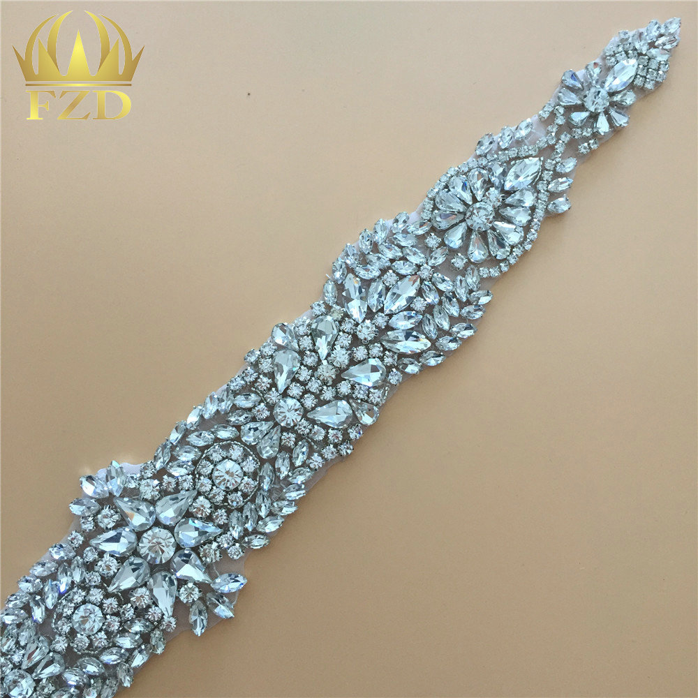 (30pieces) Wholesale Hotfix Cristal Stones and Crystals Rhinestone Sequin  Applique for Garment Dresses Headband Bridal Garters-in Rhinestones from  Home ... 393c08a362af