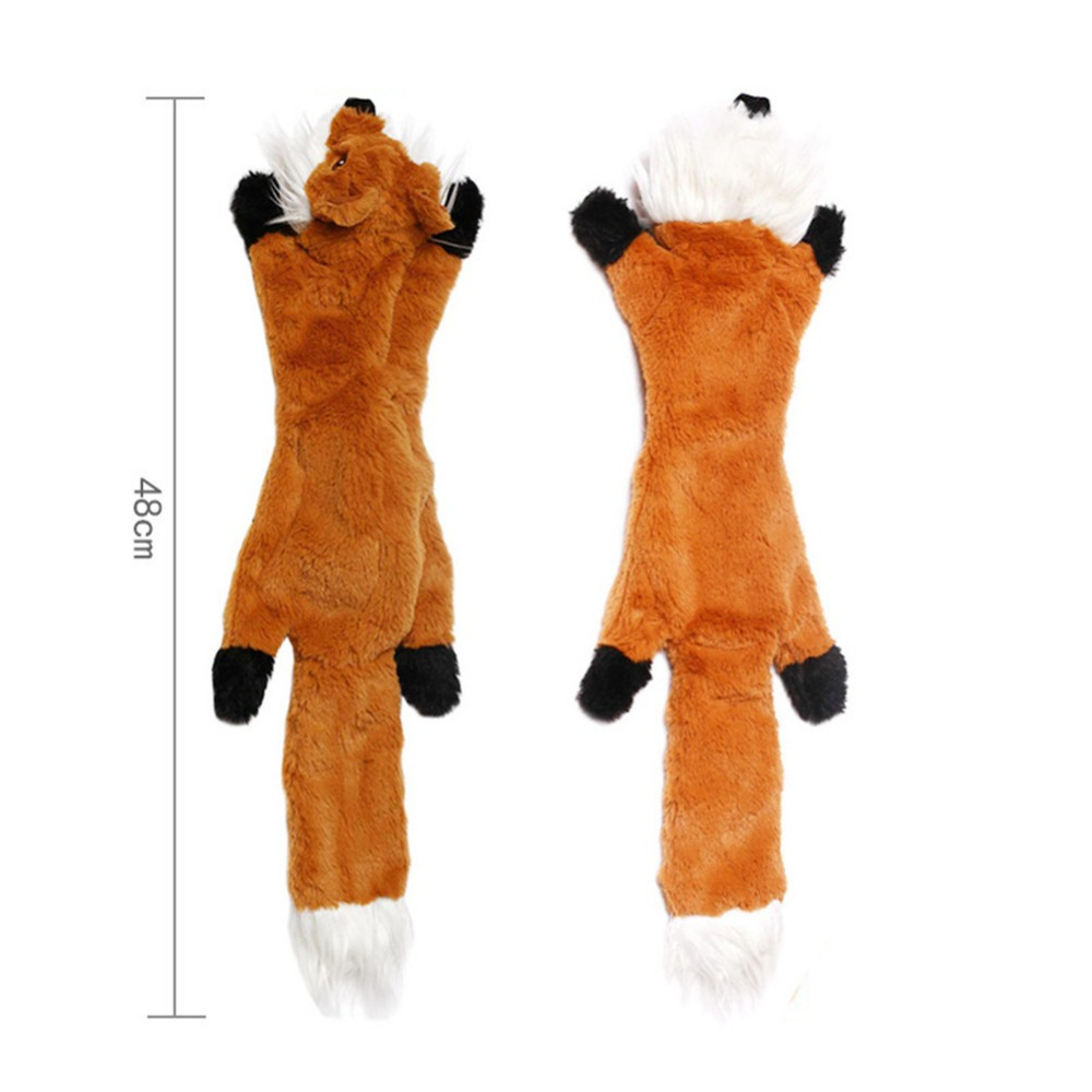 Lindos juguetes de peluche con sonido para mascota 5