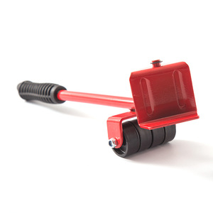 Image 4 - مجموعة أدوات يدوية مجموعة نقل الأثاث 4 بكرة المحرك + 1 عجلة بار الأثاث رافع النقل المنزلية أداة اليد مجموعة