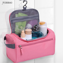 YCBXBAO Small Makeup Bag Zipper Women Men's Waterproof Travel Cosmetic Bags Wash Neceser Toiletry Toiletries Bag for Traveling aosbos women lightweight waterproof makeup bags multifunctional travel cosmetic bags cases fashion portable wash toiletry bag
