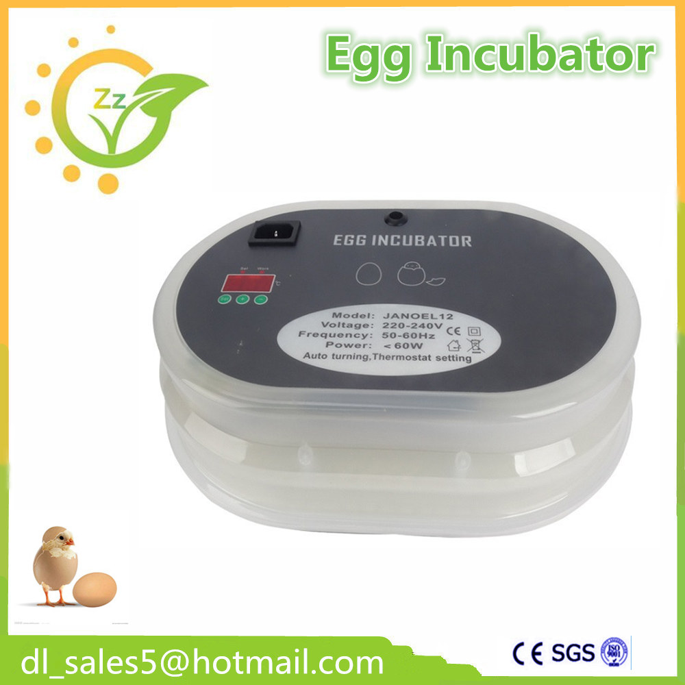 Hot Sale! 2017 China Poultry Egg Incubator 48 Eggs Incubator for Hatching chicken duck goose bird small chicken poultry hatchery machines 48 automatic egg incubator 220v hatching for sale