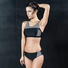 048b64abc K136 vermelho preto sexy bikinis set swimwear profissional das mulheres de  fitness esportes swimsuit mulheres empurrar