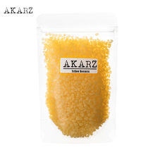 AKARZ Famous brand yellow Beeswax Pure Natural Cosmetic Grade Top Quality For DIY Lip Balms Lotions Candles Bees Wax Pastilles