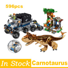 Blocks Jurassic World Park Escape Building Blocks Kit Bricks Classic Movie Model Kids Toys Gifts Compatible Legoings Technic lepin friends amusement park roller coaster playground building blocks classic girl kids model toys marvel compatible legoings