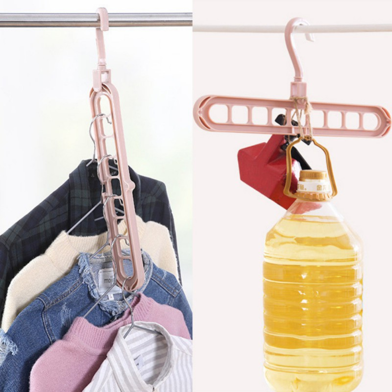 360 Degrees Rotated Plastic Handbag Clothes Ties Bag Holder Shelf Hanger Hanging Rack Storage Organizer Hooks