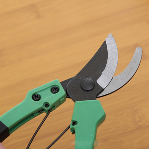 Image 5 - New product stainless steel gardening grafting tool fruit tree pruning tools  non slip spring scissors  pruning shears