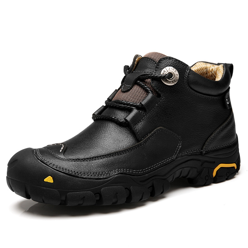 Winter Outdoor Travel Walking Sport Shoes Genuine Leather Women Breathable Hiking Shoes Ankle Boots Climbing Sneakers Big Size police station model building kit blocks playmobil helicopter blocks diy bricks educational toys compatible legoings city police