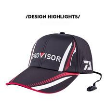2019 nuevo verano Daiwa sombrero de pesca japonés Japón sombrilla deporte béisbol pesca gorra deportiva negro cubo especial sombrero de pesca