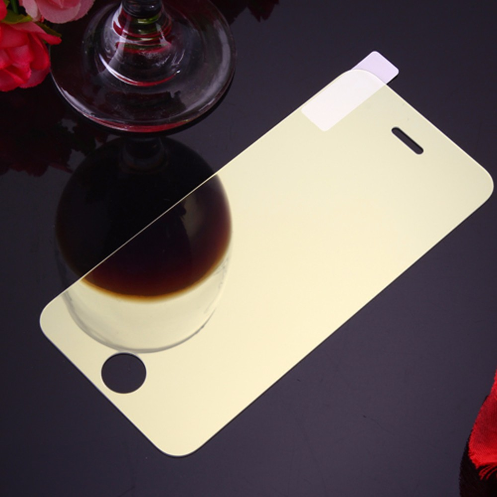 For iPhone 7 6 6S 5 5S 5C SE Luxury Colorful Mirror Screen Protector Film for iPhone 6 6S 11Pro XS MAX XR 9H Tempered Glass Case
