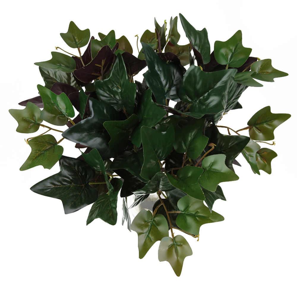 5 Vork Plastic Plant Dropship Kunstplanten Groen Gras Muur Tuin Home Decoratie Kunstbloemen Nep Bladeren Plant