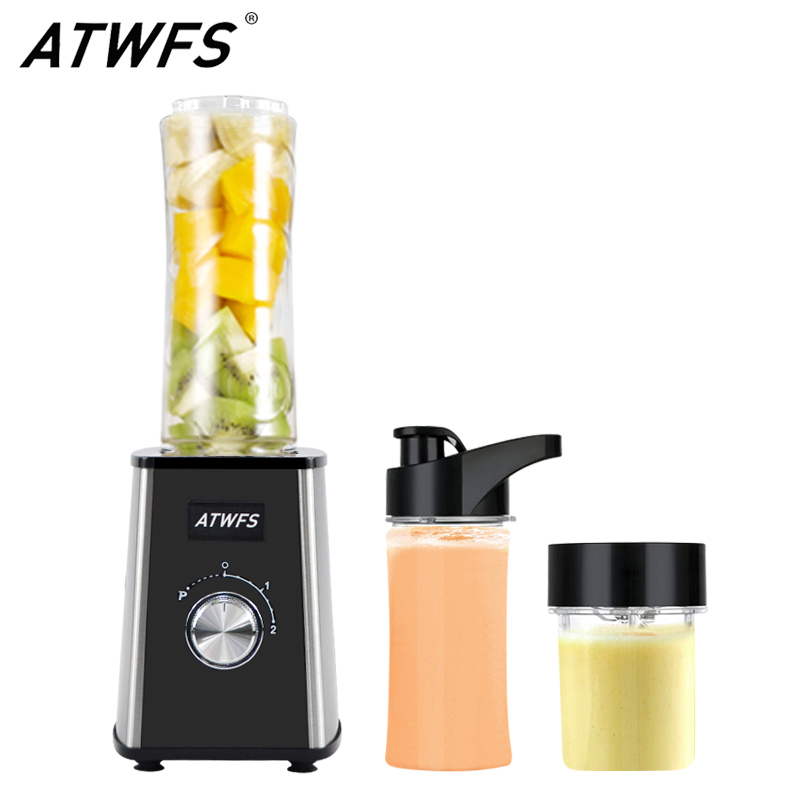 ATWFS Electric Multi-function Mixer Machine Blender Portable Home Grinder Juicer Mini Fruit Juice Extractor Mikser цена 2017