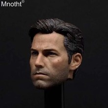 Mnotht Male Accessory 1/6 Soldier Eleven Ben Batman Ben Affleck Head Carvings Model Toy for 12in Action Figure Collection ma