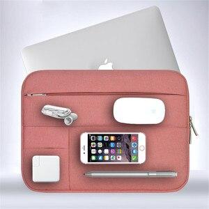 Image 1 - Nam Nữ Nylon Mềm Xách Tay Nữ Tay Đa Năng Bỏ Túi cho MacBook Pro/Air Retina 11 13 inch Túi dành cho Mac 13.3