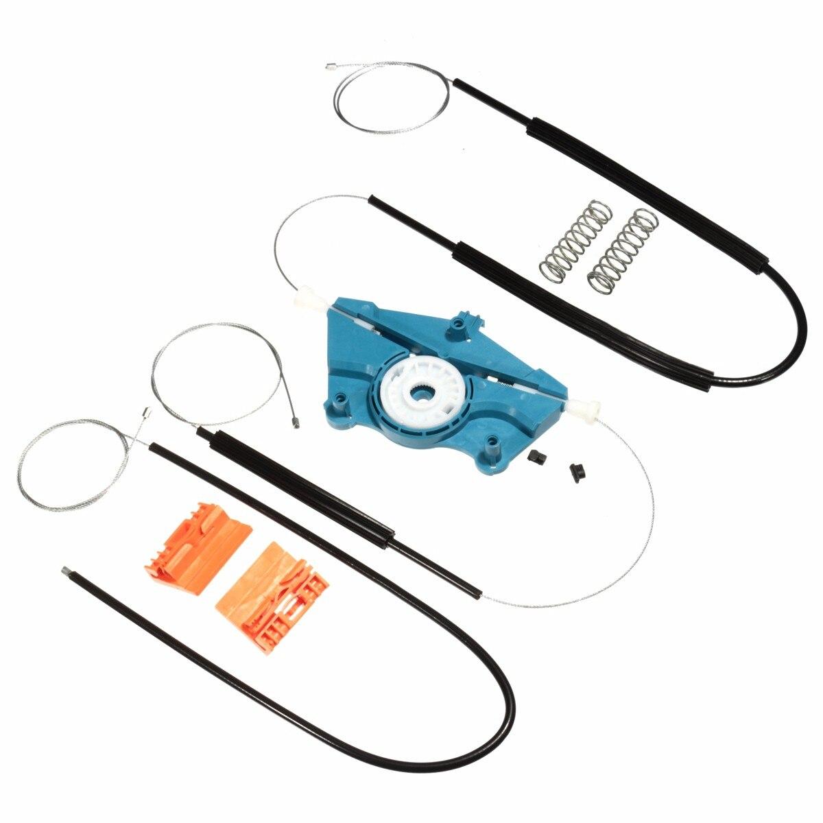 1 pçs kit de reparação de regulador de janela elétrica frente esquerda para audi a4 b6/b7 00-08 sem instruções incluídas