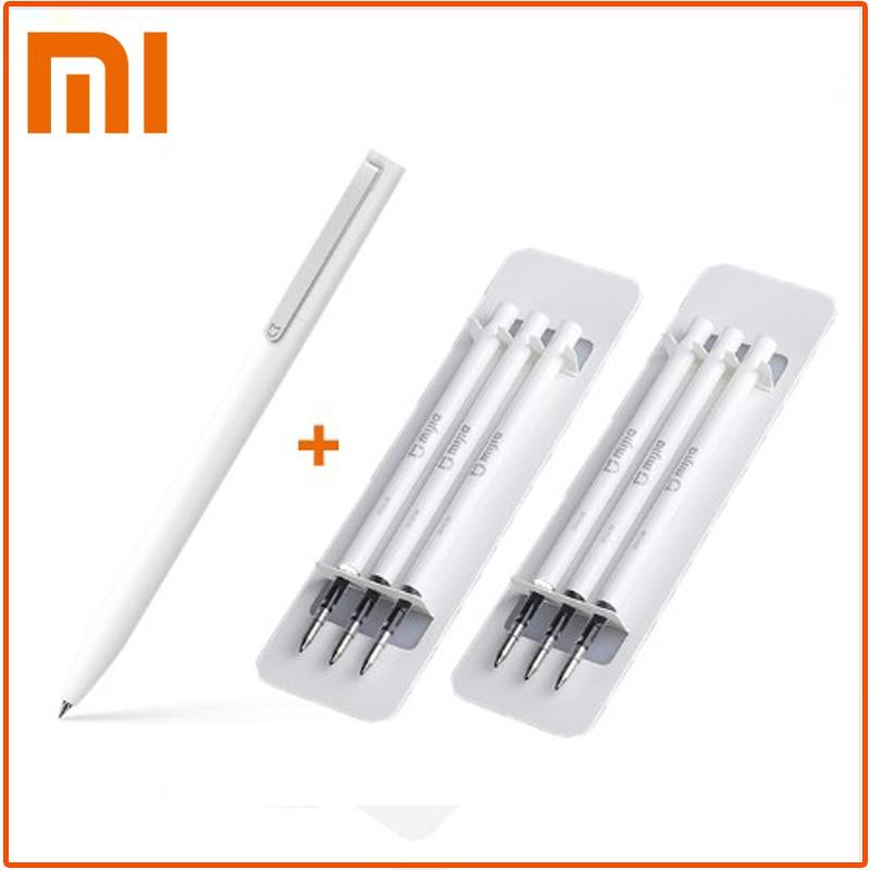 Оригинальные ручки для подписей Xiaomi Mijia 9,5 мм, гладкие швейцарские японские ручки PREMEC с черными чернилами, долговечные ручки для подписей Mi